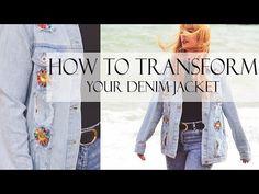 How To Transform Denim Jacket - Fashion-Utopia