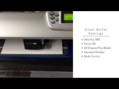 Cutting Matboard with Silver Bullet Professional - YouTube