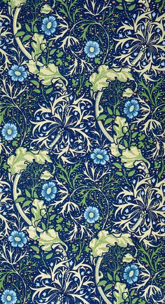 New Ideas Wall Paper Dark Pattern William Morris William Morris Wallpaper, William Morris Art, Morris Wallpapers, Of Wallpaper, Pattern Wallpaper, Wallpaper Designs, William Morris Patterns, Motif Floral, Arts And Crafts Movement