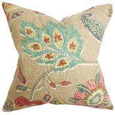 Found it at Wayfair - Jora Floral Throw Pillow