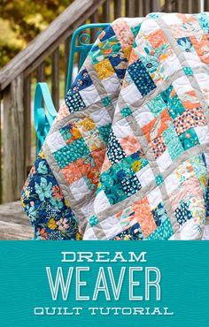 Dream Weaver Quilt | The Cutting Table Quilt Blog | Bloglovin'