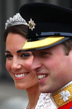 - Duke & Duchess of Cambridge making their way to Buckingham Palace on their Wedding Day