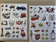 Ein paar #Buntstifte und die #diary #Illustrationen sind kleine Kunstwerke ... Danke an Jana!