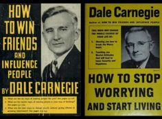 """The books may be vintage -- """"How to Win Friends and Influence People"""" was first published in 1936 and """"How to Stop Worrying and Start Living"""" debuted in 1948 -- but the advice is timeless."""