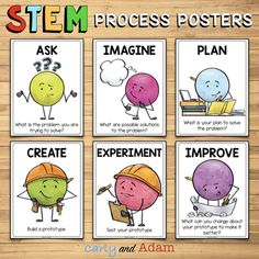 Getting Started with STEM Questioning Strategies by Carly and Adam Stem Teacher, Elementary Teacher, Professional Development For Teachers, Stem Learning, Coding For Kids, Teaching Ideas, Teacher Resources, Stem Challenges, Stem Projects