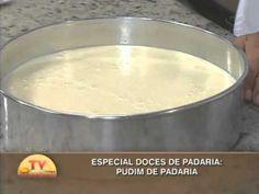 Especial Doces de Padaria - Pudim de Padaria