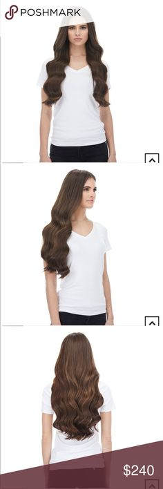 BELLAMI clip in hairextensions/free faux ponytail NEVER WORN Brand new Never was... - #bellami #brand #clip #Faux #hairextensions #hairextensionsfree #never #ponytail #worn Brown Hair Extensions, Chocolate Brown Hair, Bleached Hair, Fashion Tips, Fashion Design, Fashion Trends, Ponytail, Hair Accessories, Brand New