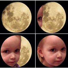 Todos vendo o eclipse da Lua!! #eclipse  #TaLindo