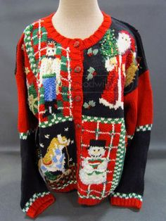 Looking for an ugly Christmas sweater? Look on #shopgoodwill