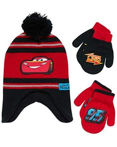 Find best price for Disney Cars Lightning McQueen Winter Hat 2 Pair Mittens or Gloves (Toddler/Little Boys). Explore our Boys Fashion section featuring new #shopping ideas of the best collection of #BoysFashion #BoysAccessories and #fashion products online at #Jodyshop Marketplace. Disney Car Accessories, Boys Accessories, Yellow Gloves, Red Gloves, Red Mittens, Disney Cars, Disney Pixar, Purple And Black, Red Black