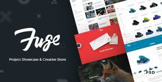 Fuse – Project Showcase & Creative Store  -  https://themekeeper.com/item/psd-templates/fuse-project-showcase-creative-store