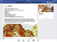 Cracker Barrel Meatloaf, Ritz Crackers, 2 Eggs, Cheddar, Onion, Beef, Cooking, Breakfast, Recipes