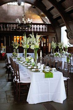 @Laetitia Paragot Lopez-Laraqui Peterson green wedding idea