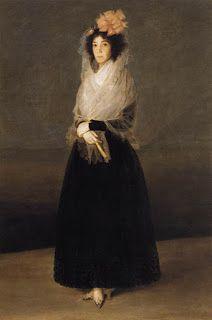 Caroline no Museu: A Condessa Del Carpio, Marquesa de La Solana.