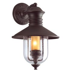 Troy Lighting Old Town 1-light Exterior Wall Lantern | Overstock™ Shopping - Big Discounts on Wall Lighting