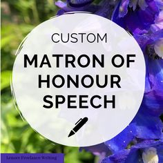 Custom written Matron of Honor Wedding Speech Order written by a professional speechwriter and certified wedding planner. Matron Of Honor Speech, Matron Of Honour, Wedding Speech Order, Best Man Speech, Professional Writing, Wedding Toasts, Custom Writing, Public Speaking, Terms Of Service
