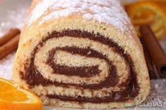 Receita de Rocambole de creme de chocolate em receitas de doces e sobremesas, veja essa e outras receitas aqui!