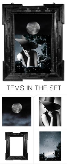 """""""MOONLIGHT FASHION"""" by abaloriosestilos on Polyvore featuring arte"""