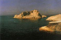 Jean-Baptiste OLIVE  (1848-1936), L'île de Maïre