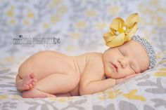 Newborn Photo Love - Tips From A Pro On Working With Props & Capturing Great Newborn Photos At Home | Disney Baby