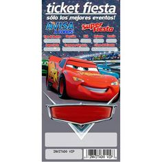 Cars Invitation, Invitations, Spiderman Gratis, Disney Cars, Holidays And Events, Diy And Crafts, Happy Birthday, Lol, Party