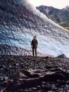 Ice cave, WA