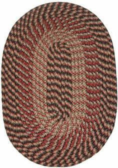 Plymouth 8' x 8' Round Braided Rug in Black by Constitution Rugs LLC. $178.99. Banded premium tubular braided rug enhances both contemporary and traditional room decors