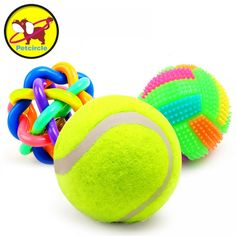 3 pieces / lot 2017 New Pet Dog Toys Squeak Rubber Dog Toys Ball Dog Chew Toys Dog Chew Toys, Dog Toys, Chihuahua, Cheap Toys, Dog Bag, Animal Games, Dog Behavior, Pet Clothes, Pet Accessories