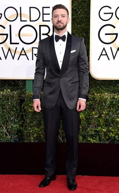 Justin Timberlake from Best Dressed at Golden Globes 2017 Oh, Justin—you're tearing up our heart with how good looking you are.