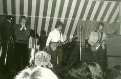 The Yardbirds at the Marquee 1966 with Jeff Beck & Eric Clapton guesting taken by Jean Albert Beaudenon