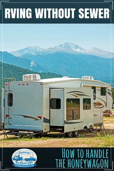 Are you RV camping without sewer hookups? If so, you will need to know how to empty those holding tanks. Find out how to use a honeywagon (portable waste tank) to empty your tanks. Travel Hack, Rv Travel, Travel Trailers, Rv Trailers, Horse Trailers, Travel Tips, Rv Camping Checklist, Camping Hacks, Camping Ideas