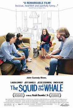 The Squid and the Whale (2005) Directed by Noah Baumbach. Starring  Owen Kline, Jeff Daniels and Laura Linney. |