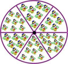 Foto: rueda del 5 al 10 Math For Kids, Kids Rugs, Album, Teaching, Blog, Puzzles, Count, School, Games