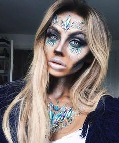 5d9bd3c81b14 ✨❄️DEAD SNOW QUEEN❄ ✨ the beautiful  sammiejosephene crested this look using