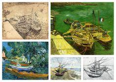 Vincent Van Gogh Collection IX (Boats)