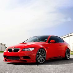 Slick BMW M3 with Vossen Wheels