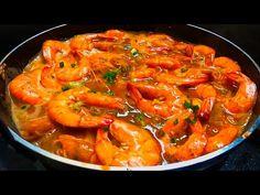 Ganito pala ang masarap na luto sa hipon, mas kakaiba ang lasa kumpara sa ibang luto - YouTube Filipino Dishes, Filipino Food, Filipino Recipes, Garlic Butter Shrimp, Prawn Shrimp, Recipe Source, Lobsters, Pinoy, Shrimp Recipes