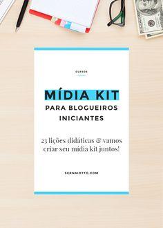 Tudo o que você precisa saber para criar o seu mídia kit + layouts para editar e usar!