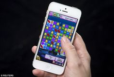 The top five app-based games to be downloaded, were Angry Birds 2, Minions Paradise, Candy Crush Soda Saga, Inside Out Thought Bubbles and Agar.io, proving the long lasting popularity of Angry Birds and Candy Crush (stock image) in particular