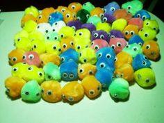 Pygmy Puffs!  By blessednest2002 via Geek Crafts