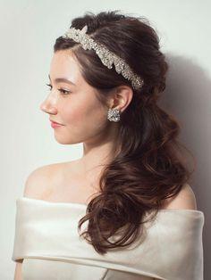 タイトな前髪と毛流れのコントラストが美しいノーブル・ダウン/Side