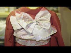 短めの帯、大柄の方、帯の長さが足りない時の帯の結び方 成人式、卒業式、結婚式にも使える帯の作り方16(ゆっくり解説)着付け、着物、帯結び、振袖 福岡平尾の美容室ヘアーメイクDIVA - YouTube