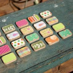 See how to make a custom Memory Game for the times when you drag your kids on boring outings.