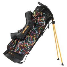 Scribblz Loudmouth Golf Stand: Order Loudmouth Golf Bags and Other Golf Bags Online. Golf Outfit, Ladies Golf Bags, Golf Stand Bags, Team Uniforms, Mens Golf, Online Bags, Stylish, Lady, Sports
