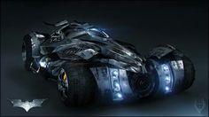 Awesome Batmobile concept with heavy inspiration from Batman: Arkham Knight Batman Auto, Batman Batmobile, Batman Arkham, Lego Batman, Dc Comics Art, Batman Comics, Army Vehicles, Armored Vehicles, Batman Redesign