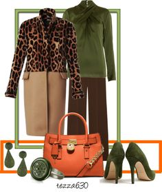 """""""Cashmere Leopard Print Burberry"""" by tezza630 on Polyvore  02.21.2013"""