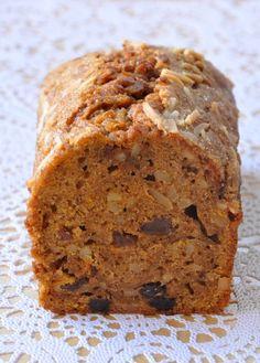 Cake potimarron raisins amandes façon carrot cake
