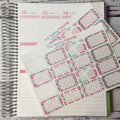 NEW! May Monthly Write-On Half Box Stickers for Erin Condren Life Planner/Plum Paper Planner - Set of 32