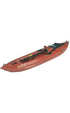 Great for technical paddling on whitewater, ocean surf, placid rivers and lakes. The Safari offers the widest range of capability of any kayak we know. Paddlers the world over use the Safari for expedition touring, flatwater day trips, ocean surfing, and Class III whitewater rivers