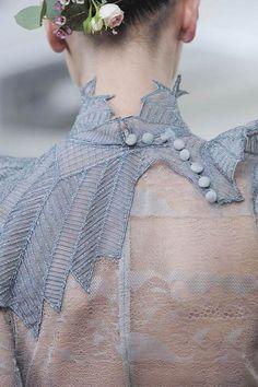 Beautiful delicate details...Julien Fournié.